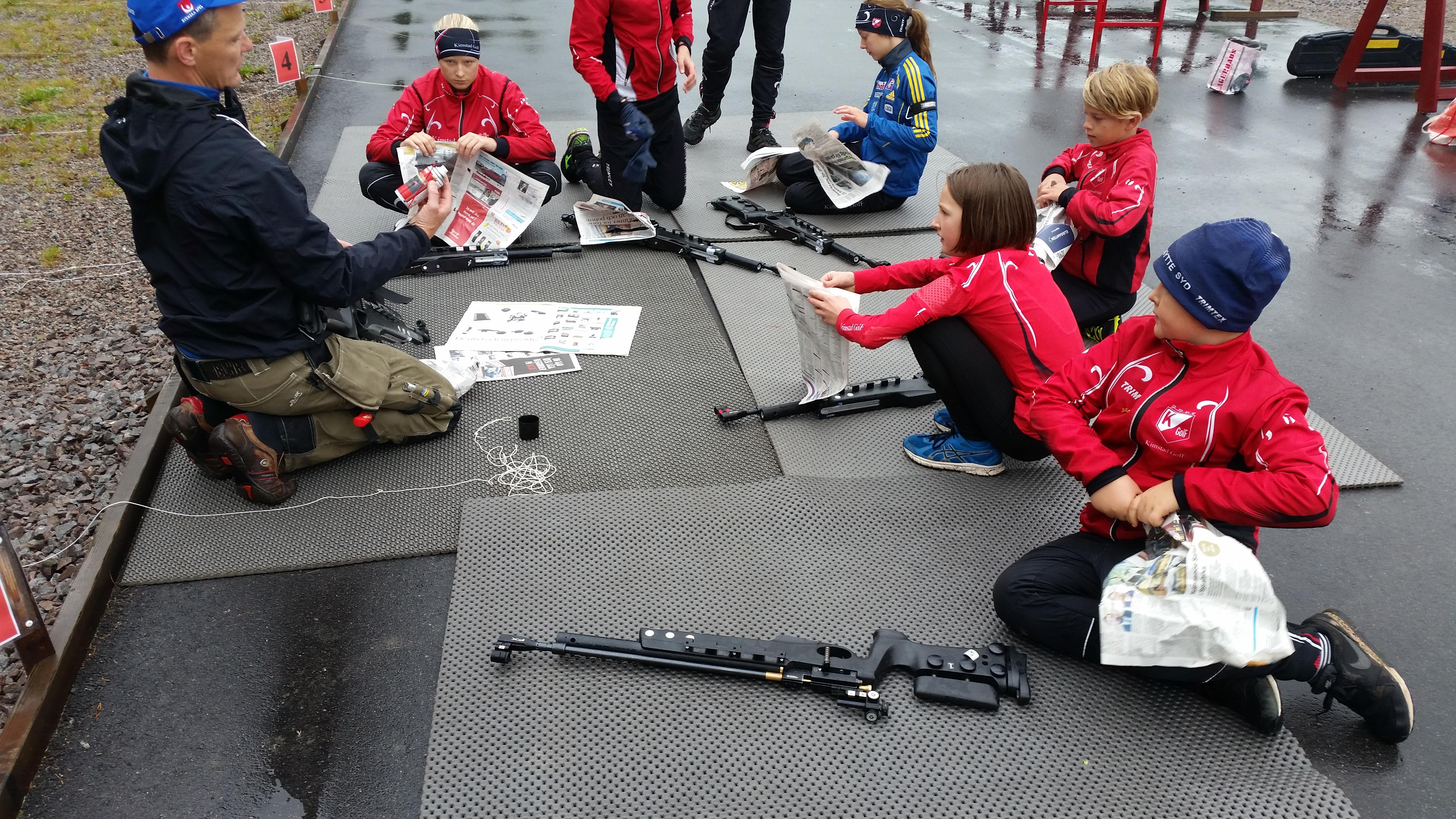 Vapenvårdslektion